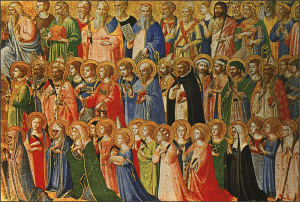 """""""All Saints Day,"""" a painting by Fra Angelica (1395-1455)."""